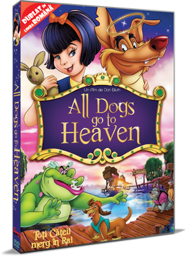 Toti cateii merg in Rai / All Dogs Go to Heaven - DVD