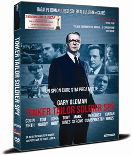 Un spion care stia prea multe / Tinker Tailor Soldier Spy - DVD