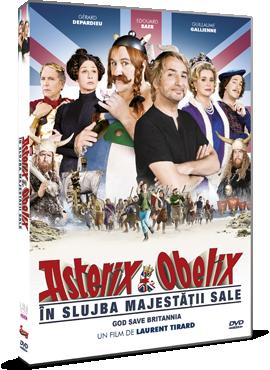 Asterix si Obelix: In slujba Majestatii Sale / Asterix & Obelix: Au service de sa Majeste - DVD