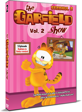 Garfield / The Garfield Show - Sezonul 2 - Volumul 2 - DVD