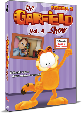 Garfield / The Garfield Show - Sezonul 2 - Volumul 4 - DVD