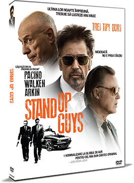 Trei tipi duri / Stand Up Guys - DVD