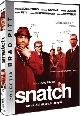 Unde dai si unde crapa / Snatch - DVD