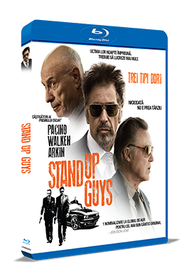 Trei tipi duri / Stand Up Guys - BLU-RAY