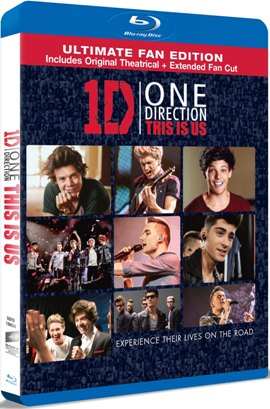 One Direction: Astia suntem / One Direction: This is Us - BLU-RAY