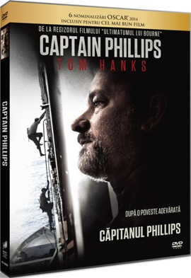 Capitanul Phillips / Captain Phillips - DVD