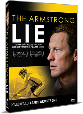 Povestea lui Lance Armstrong / The Armstrong Lie - DVD
