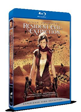Resident Evil: Disparitia / Resident Evil: Extinction - BLU-RAY