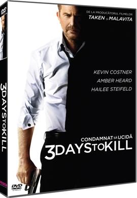 Condamnat sa ucida / 3 Days to Kill - DVD