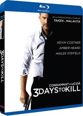 Condamnat sa ucida / 3 Days to Kill - BLU-RAY
