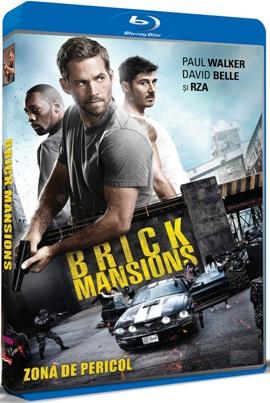 Zona de pericol / Brick Mansions - BLU-RAY