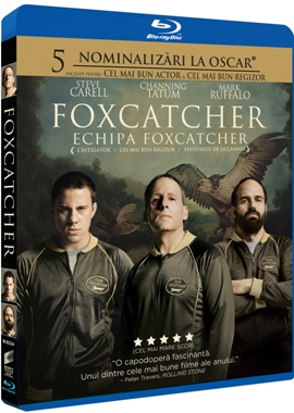 Echipa Foxcatcher / Foxcatcher - BLU-RAY
