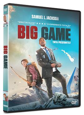 Tinta: Presedintele / Big Game - DVD