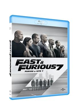 Furios si iute 7 / Fast & Furious 7 - BLU-RAY