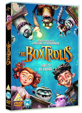 Boxtroli / The Boxtrolls - DVD