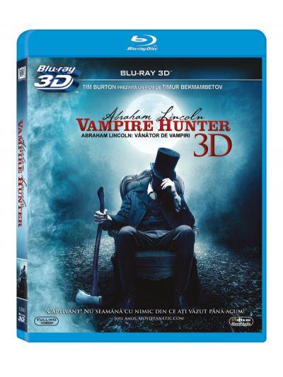 Abraham Lincoln: Vanator de vampiri / Abraham Lincoln: Vampire Hunter - BLU-RAY 3D