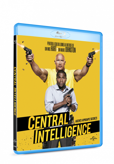 Agenti aproape secreti / Central Intelligence - BLU-RAY
