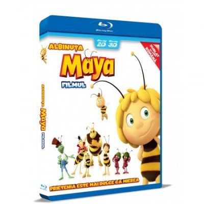 Albinuta Maya: Filmul / Maya The Bee: The Movie - BLU-RAY 3D + 2D