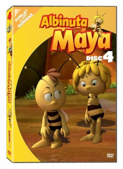 Albinuta Maya / Maya the Bee - Disc 4 - DVD