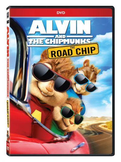 Alvin si Veveritele: Marea aventura / Alvin and the Chipmunks: The Road Chip - DVD