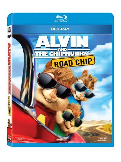 Alvin si Veveritele: Marea aventura / Alvin and the Chipmunks: The Road Chip - BLU-RAY