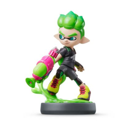 AMIIBO GREEN BOY (SPLATOON)