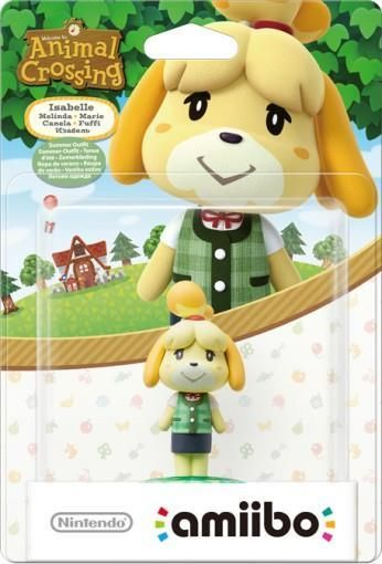 AMIIBO ISABELLE SUMMER OUTFIT (ANIMAL CROSSING)