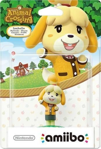 AMIIBO ISABELLE WINTER OUTFIT (ANIMAL CROSSING)