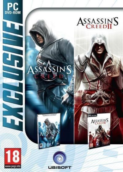 ASSASSINS CREED & ASSASSINS CREED 2 PACK EXCLUSIVE - PC