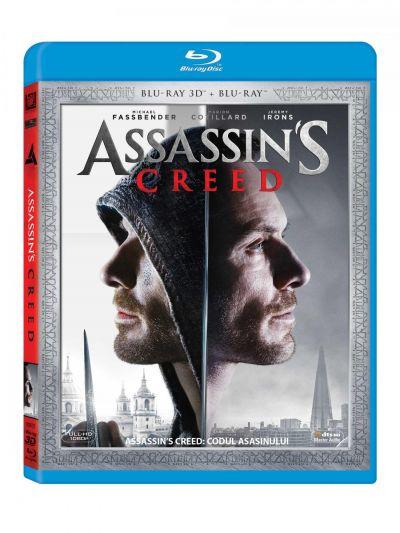 Assassin's Creed: Codul asasinului - BLU-RAY 3D + 2D