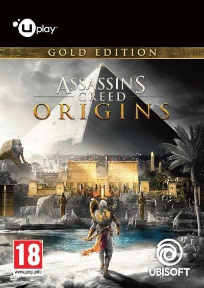 ASSASSINS CREED ORIGINS GOLD EDITION - PC (UPLAY CODE)