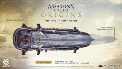 ASSASSINS CREED ORIGINS THE FIRST HIDDEN BLADE
