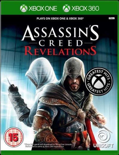 ASSASSINS CREED REVELATIONS - XBOX360 (XBOX ONE COMPATIBLE)