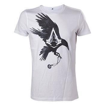 ASSASSINS CREED SYNDICATE CROW WHITE TSHIRT S