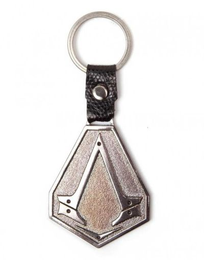 ASSASSINS CREED SYNDICATE METAL LOGO KEYCHAIN