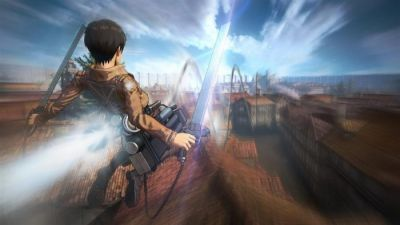 ATTACK ON TITAN WINGS OF FREEDOM - PS4