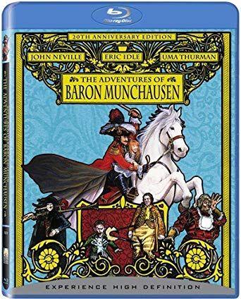Aventurile Baronului Munchausen / The Adventures of Baron Munchausen: 20th Anniversary Edition - BLU-RAY