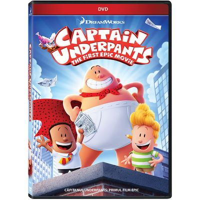 Capitanul Underpants: Primul film epic / Captain Underpants: First Epic Movie - DVD