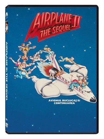 Avionul buclucas 2: Continuarea / Airplane II: The Sequel - DVD