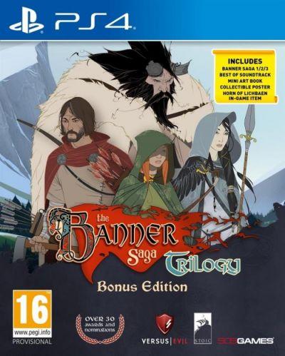 BANNER SAGA TRILOGY - PS4