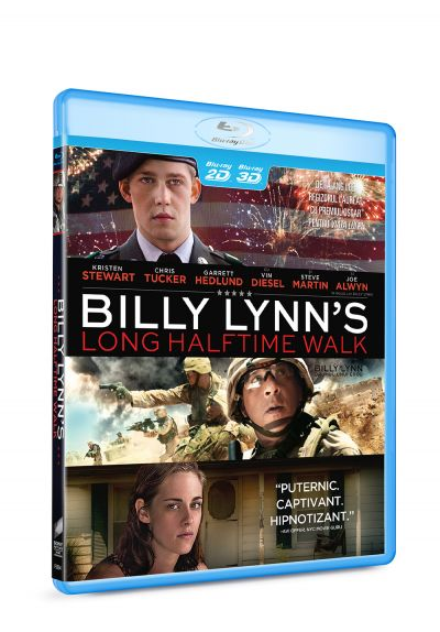 Billy Lynn: Drumul unui erou / Billy Lynn's Long Halftime Walk - BLU-RAY 3D+2D