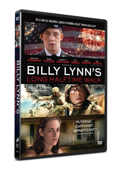Billy Lynn: Drumul unui erou / Billy Lynn's Long Halftime Walk - DVD