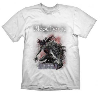 BLOODBORNE BOSSFIGHT WHITE TSHIRT XL