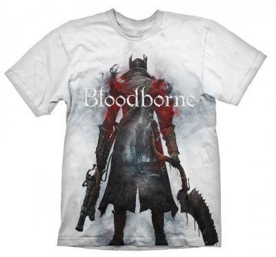 BLOODBORNE HUNTER STREET WHITE TSHIRT XXL