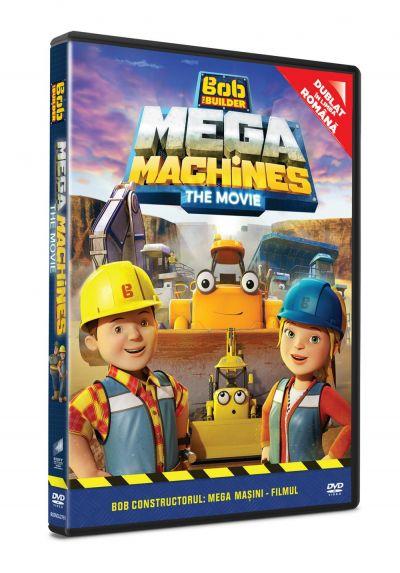 Bob Constructorul: Mega Masini - Filmul / Bob the Builder: Mega Machines - The Movie - DVD