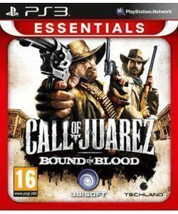 CALL OF JUAREZ BOUND IN BLOOD ESSENTIALS - PS3
