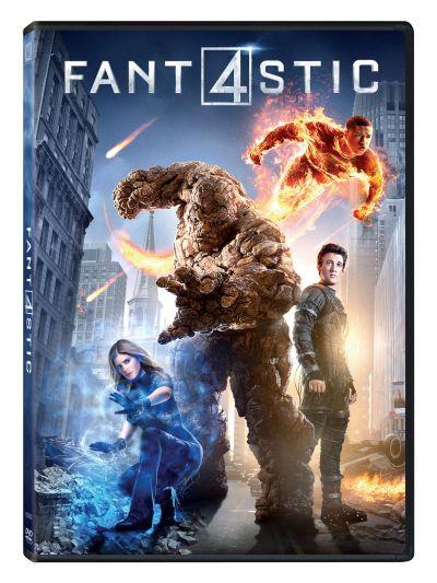 Cei Patru Fantastici / Fantastic Four (2015) - DVD