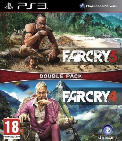 COMPILATION FAR CRY 3 & FAR CRY 4 - PS3
