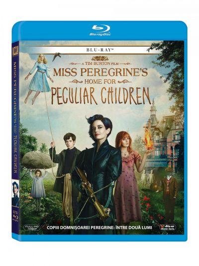 Copiii domnisoarei Peregrine: Intre doua lumi / Miss Peregrine's Home for Peculiar Children - BLU-RAY
