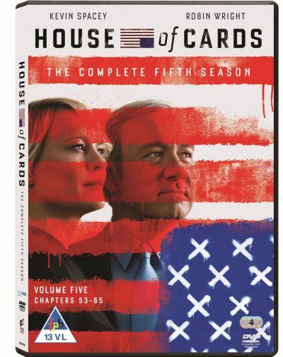 Culisele Puterii / House of Cards - Sezonul 5 - DVD (4 discuri DVD)
